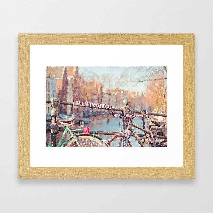 Sleutelbrug Framed Art Print