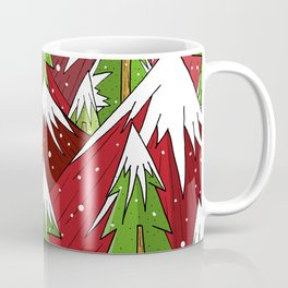 Xmas Mounts Coffee Mug