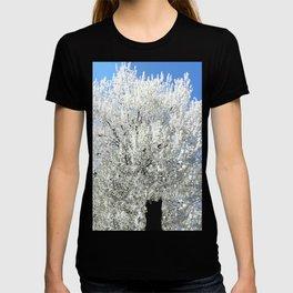 Trees Snow White T-shirt