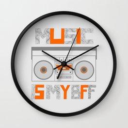 Music Is My BFF Wall Clock