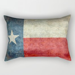 Flag of Texas, Flag of the Lone Star State Rectangular Pillow