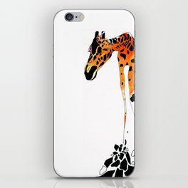Phillip the French Giraffe iPhone Skin