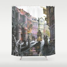 Diagon Alley Shower Curtain