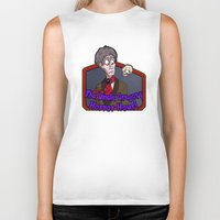 greg guillemin Biker Tanks featuring Greg and Chant by UncleGregory