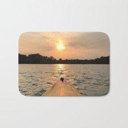Paddle Into the Sunset Bath Mat