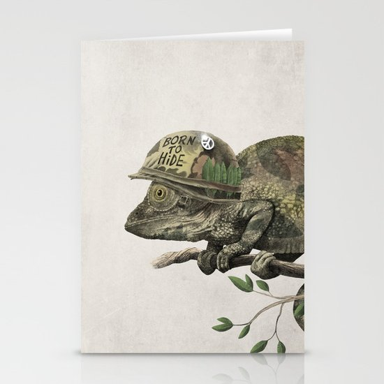 Born to Hide Stationery Cards