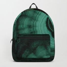 Malachite detailed pattern Backpack