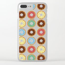 Donuts!! Clear iPhone Case