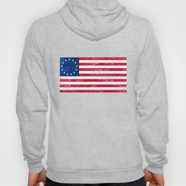 Betsy Ross Flag, Victory 1776, Independence Day Hoody