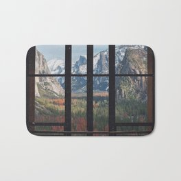 Yosemite Window Bath Mat