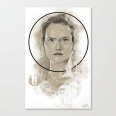 Rey design Canvas Print