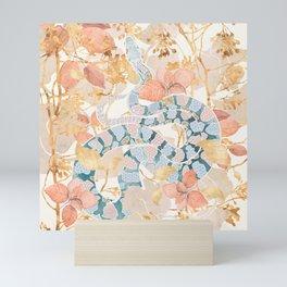 Coral Spring Garden Mini Art Print