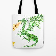 Starry Dragon Tote Bag