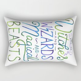 AVPM - Back To Hogwarts Rectangular Pillow