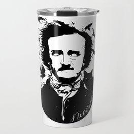 Edgar Allen Poe Travel Mug