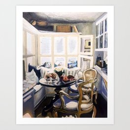 A Nook (Breakfast Only) Art Print