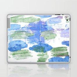 Green blue abstract Laptop & iPad Skin