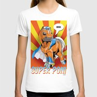 superhero T-shirts featuring Superhero Pony by GumiPoni