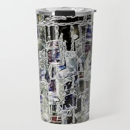 Abstract cityscape Travel Mug