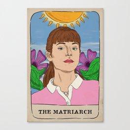 Alison Hendrix Tarot Card Canvas Print