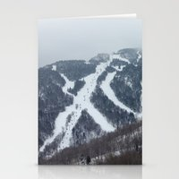vermont Stationery Cards featuring Killington Vermont by BACK to THE ROOTS