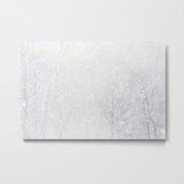 White Christmas Metal Print