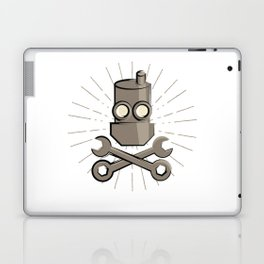 Jolly Robot 01 Laptop & iPad Skin