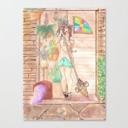 Plant Witchery Canvas Print
