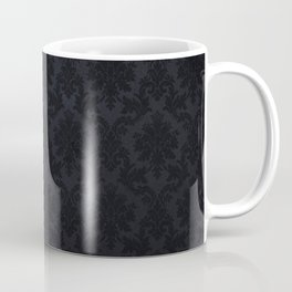 Black damask - Elegant and luxury design Coffee Mug