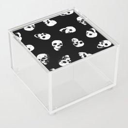 Gossiping Skulls Acrylic Box