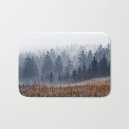 Lost In Fog Bath Mat