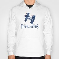 nfl Hoodies featuring Tennessee Tie Fighters - NFL by Steven Klock