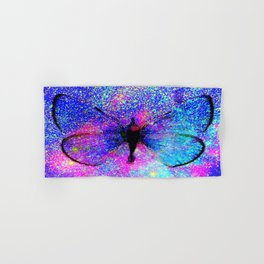 Celestial Butterfly : Bright & Colorful Hand & Bath Towel