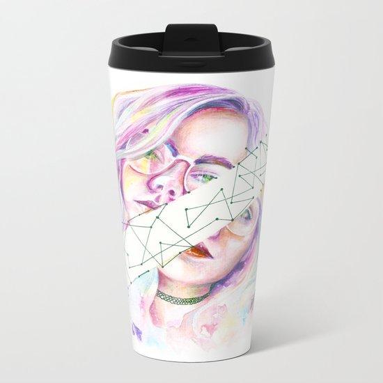 Kristína Metal Travel Mug