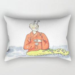 Thich Quang Slug Rectangular Pillow