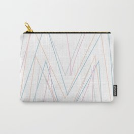 Intertwined Strength and Elegance of the Letter M Carry-All Pouch
