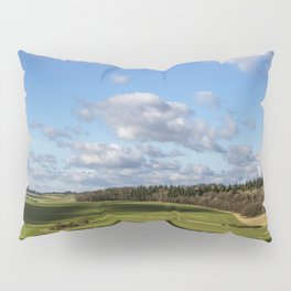Views of Wiltshire. Pillow Sham