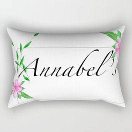 Names.Personalised gift ideas.Annabel Rectangular Pillow