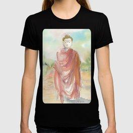 Buddha Walking T-shirt
