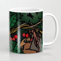 bats Mugs featuring Bats by Mel McIvor