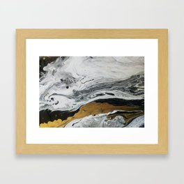Mármore Framed Art Print