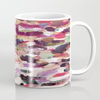 river Mugs featuring River by Georgiana Paraschiv