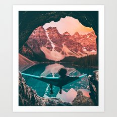 The Perfect View Art Print