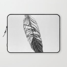 Sea Eagle Feather Tattoo Laptop Sleeve