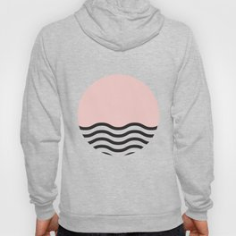 Waves of Pink Hoody