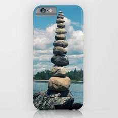 Leaning Tower of Pebbles Slim Case iPhone 6s