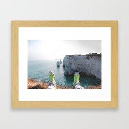 Let's Go Somewhere Framed Art Print