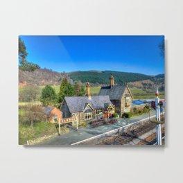 Carrog Railway Station Metal Print