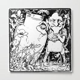 When Leprechauns Go Bad A Surly Drunken Clurichaun Metal Print
