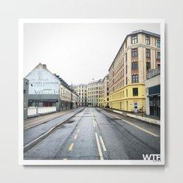 Sunday Morning, Vesterbro, Copenhagen Metal Print